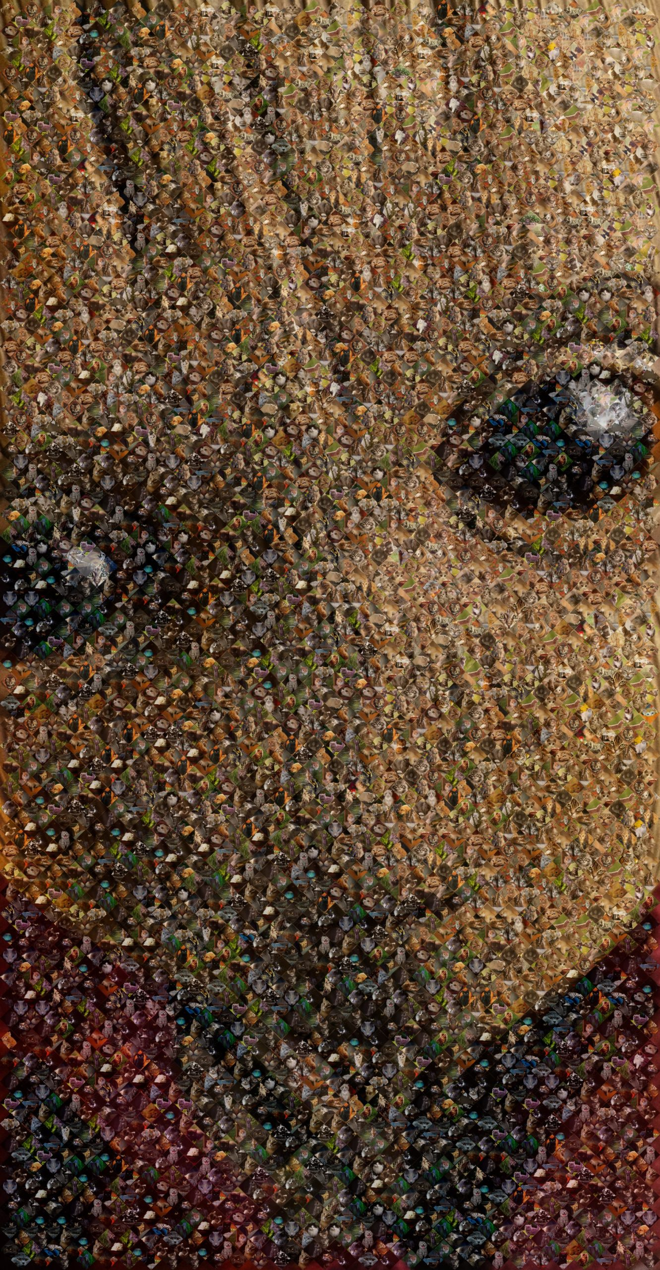 i am kitty mosaic groot